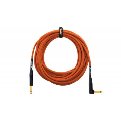 ORANGE CABLE GUITAR 10M ANGLE