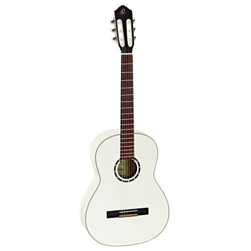 ORTEGA 4/4 R121 SPRUCE SLIM NECK WHITE