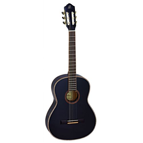 ORTEGA 4/4 R221 SPRUCE SLIM NECK BLACK