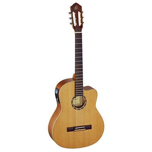 ORTEGA RCE131 SOLID CEDAR SLIM NECK NATURAL