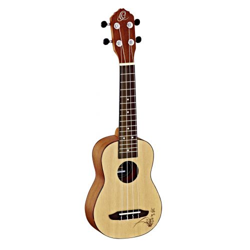 ORTEGA SOPRANO RU5SO SPRUCE NATURAL