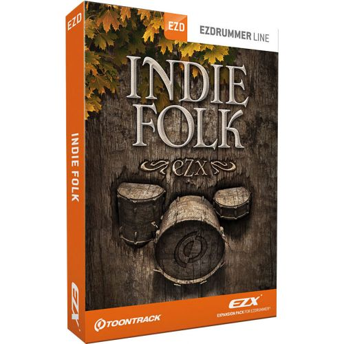 TOONTRACK INDIE FOLK EZX