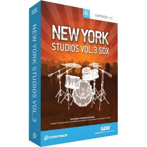 TOONTRACK NEW YORK STUDIOS VOL.3 SDX