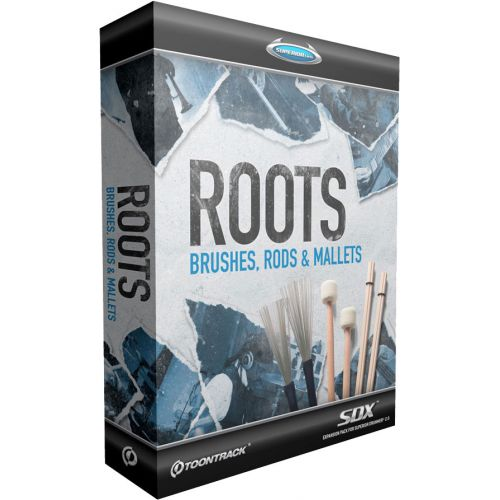 TOONTRACK ROOTS BRUSHES-RODS-MALLETS SDX