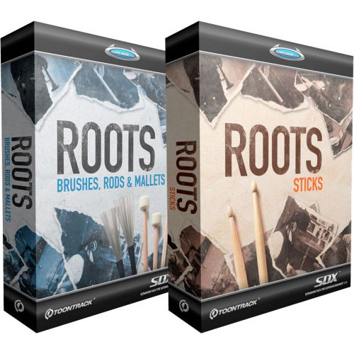 TOONTRACK ROOTS BUNDLE SDX