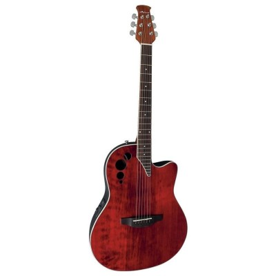 OVATION APPLAUSE ELITE AE44II-RR RUBY RED