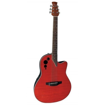 OVATION APPLAUSE ELITE AE44II-CHF CHERRY FLAME