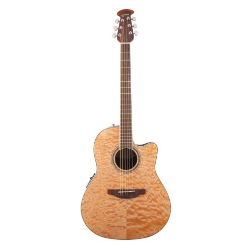 OVATION CELEBRITY STANDARD PLUS CS24P4Q NATURAL QUILTED MAPLE
