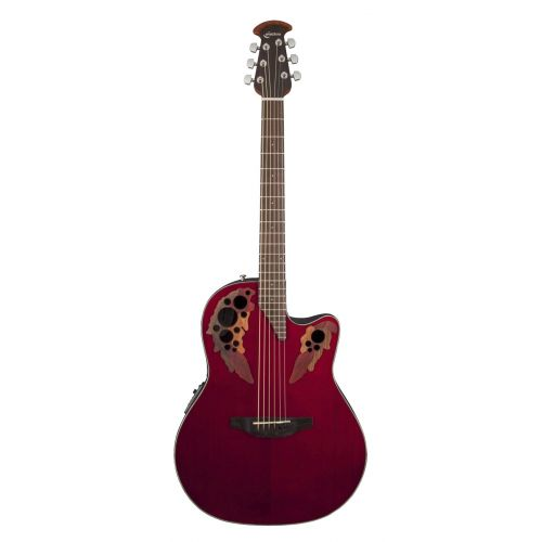 OVATION CELEBRITY ELITE CE44RR RUBY RED