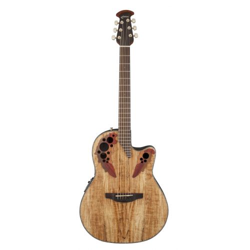 OVATION CELEBRITY ELITE PLUS CE44PSM SPALTED MAPLE