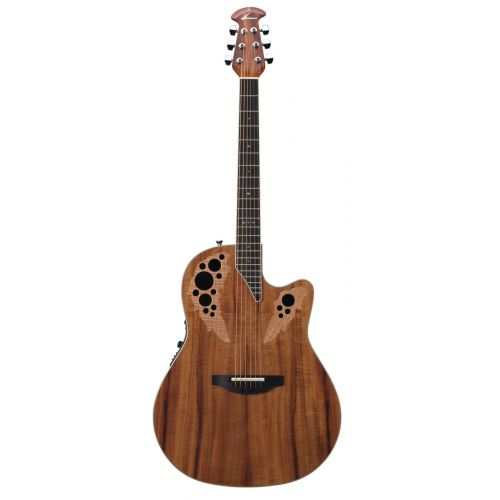 OVATION STANDARD ELITE DEEP CONTOUR CUTAWAY FIGURED KOA