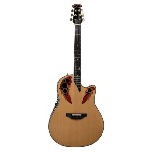 OVATION ELITE DEEP CONTOUR CUTAWAY NATURAL