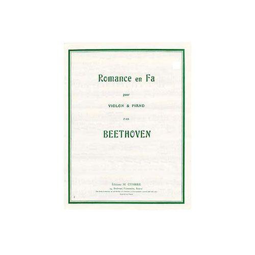 COMBRE BEETHOVEN LUDWIG VAN - ROMANCE EN FA OP.50 - VIOLON ET PIANO