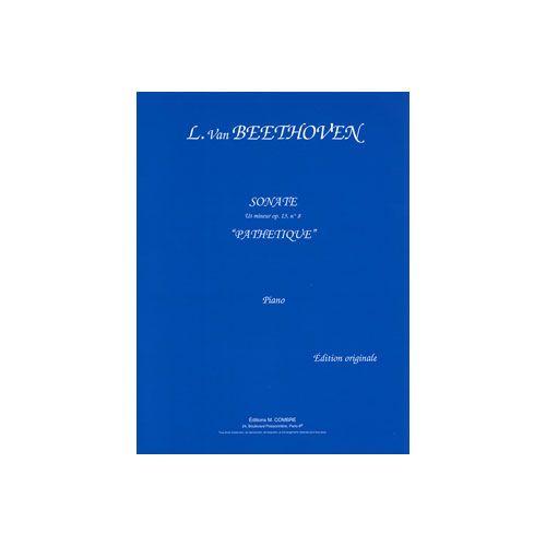 COMBRE BEETHOVEN LUDWIG VAN - SONATE N.8 EN UT MIN. OP.13 PATHETIQUE - PIANO