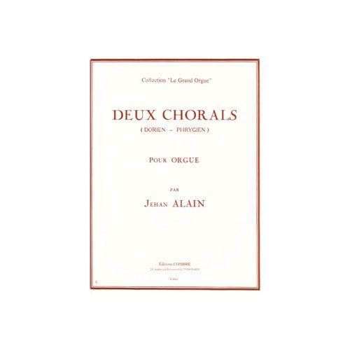 COMBRE ALAIN JEHAN - CHORALS (2) : DORIEN - PHRYGIEN - ORGUE