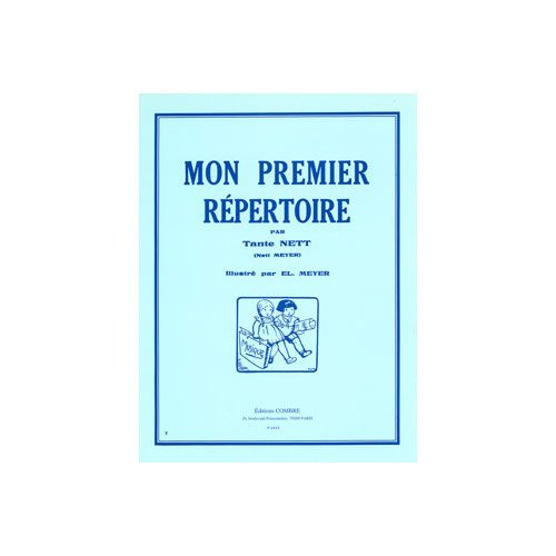 COMBRE MEYER NETT - MON PREMIER REPERTOIRE (12 PIECES) - PIANO