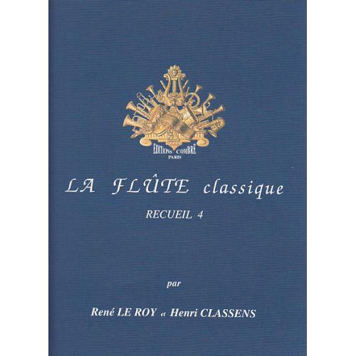 COMBRE LE ROY CLASSENS - LA FLUTE CLASSIQUE VOL.4