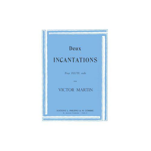 COMBRE MARTIN VICTOR - INCANTATIONS (2) - FLUTE