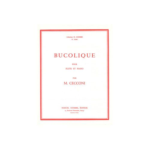 COMBRE CECCONI MONIQUE - BUCOLIQUE - FLUTE ET PIANO