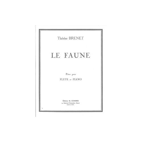 COMBRE BRENET THERESE - LE FAUNE - FLUTE ET PIANO