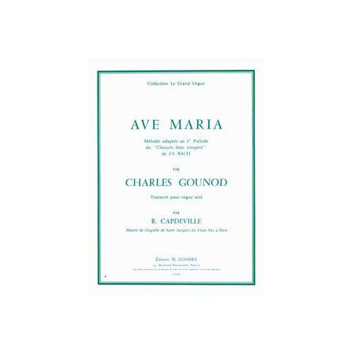 COMBRE GOUNOD CHARLES - AVE MARIA - ORGUE