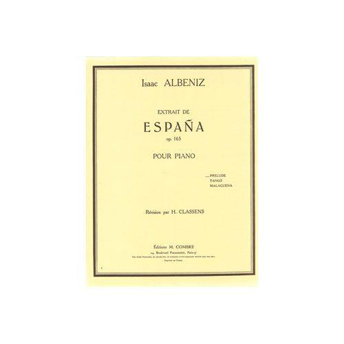 COMBRE ALBENIZ ISAAC - ESPANA OP.165 PRELUDE - PIANO