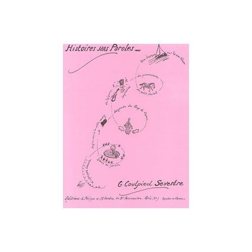 COMBRE COULPIED-SEVESTRE GERMAINE - HISTOIRES SANS PAROLES (7 PIECES) - PIANO