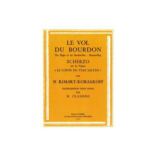 COMBRE RIMSKY-KORSAKOV NICOLAI - LE VOL DU BOURDON (CONTE DU TSAR) - PIANO
