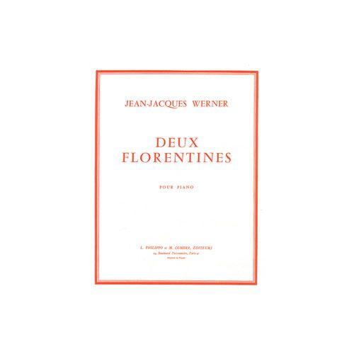 COMBRE WERNER JEAN-JACQUES - FLORENTINES (2) - PIANO