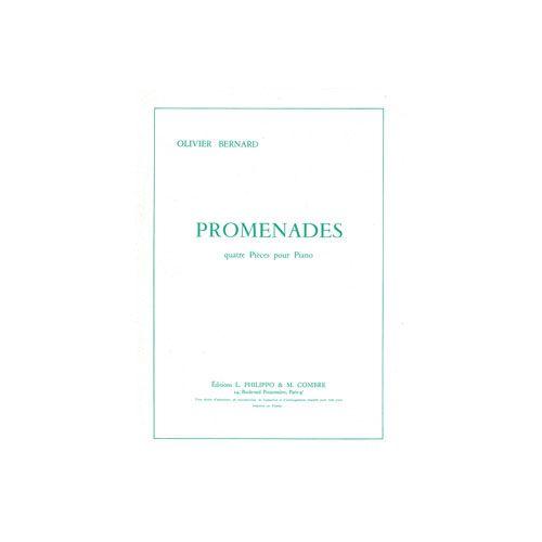 COMBRE BERNARD O. - PROMENADES (4 PIECES) - PIANO