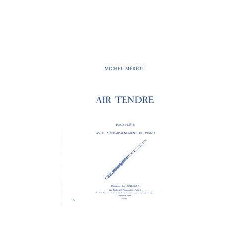 COMBRE MERIOT MICHEL - AIR TENDRE - FLUTE ET PIANO