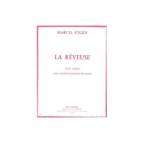 COMBRE ETGEN MARCEL - LA REVEUSE - VIOLON ET PIANO