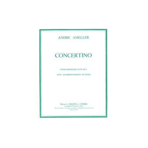 COMBRE AMELLER ANDRE - CONCERTINO POUR SAXOPHONE ALTO OP.125 - SAXOPHONE ALTO ET PIANO REDUCTION
