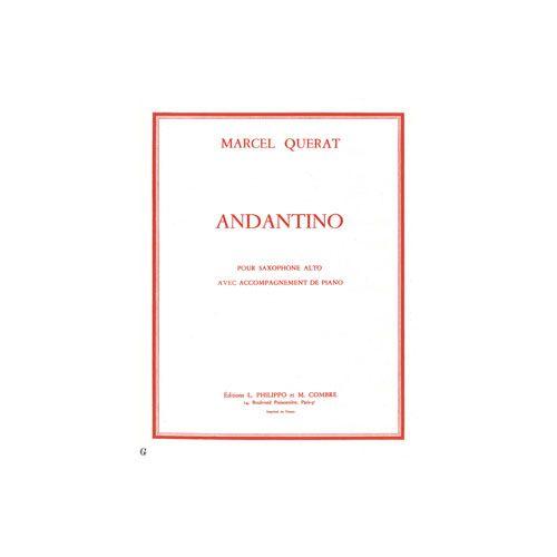 COMBRE QUERAT MARCEL - ANDANTINO - SAXOPHONE ET PIANO