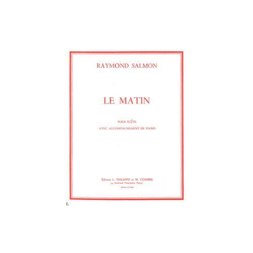 COMBRE SALMON RAYMOND - LE MATIN - FLUTE ET PIANO