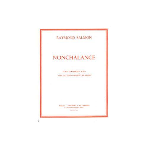 COMBRE SALMON RAYMOND - NONCHALANCE - SAXOPHONE ET PIANO