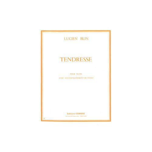 COMBRE BLIN LUCIEN - TENDRESSE - FLUTE ET PIANO