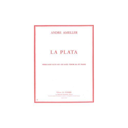 COMBRE AMELLER ANDRE - LA PLATA - SAXOPHONE ALTO OU TENOR ET PIANO