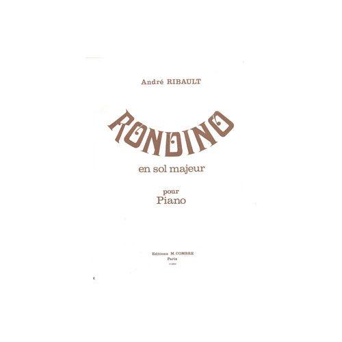 COMBRE RIBAULT ANDRE - RONDINO EN SOL MAJ. - PIANO