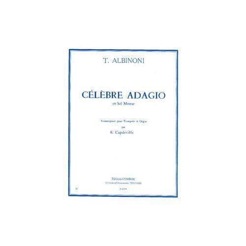 COMBRE BACH J. S. - ALBINONI T. - ADAGIO - TROMPETTE ET PIANO
