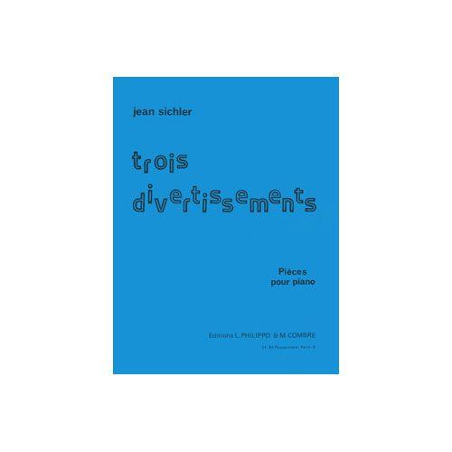 COMBRE SICHLER JEAN - DIVERTISSEMENTS (3) - PIANO