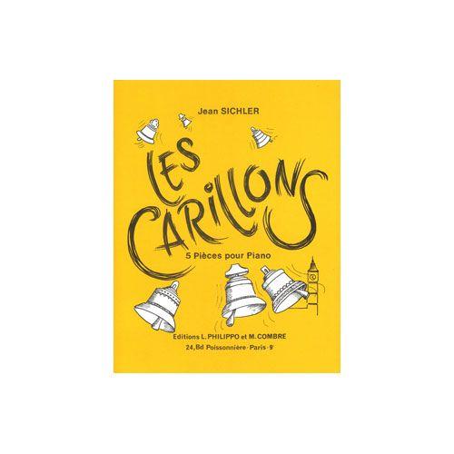 COMBRE SICHLER JEAN - LES CARILLONS (5 PIECES) - PIANO