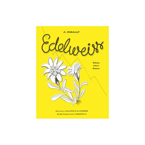 COMBRE RIBAULT ANDRE - EDELWEISS - PIANO