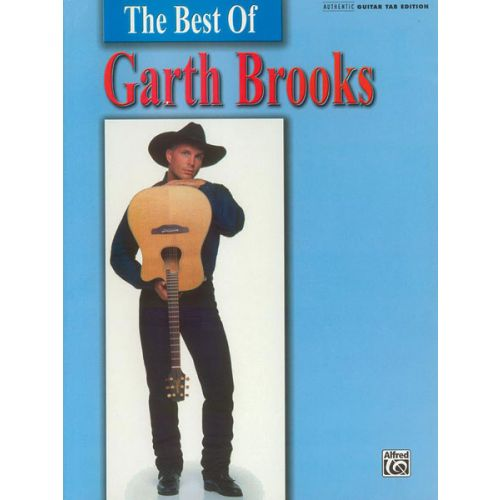 ALFRED PUBLISHING BROOKS GARTH - GARTH BROOKS, BEST OF - GUITAR TAB