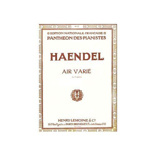 LEMOINE HAENDEL G.F. - AIR VARIE EN MI MAJ. - LE FORGERON - PIANO