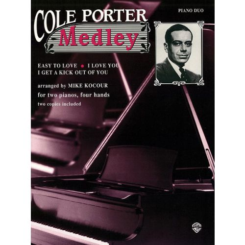 ALFRED PUBLISHING COLE PORTER MEDLEY - TWO PIANOS