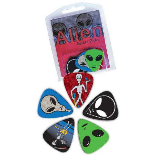 GROVER ALLMAN BLISTER 5 MEDIATORS PICKTIN ALIEN