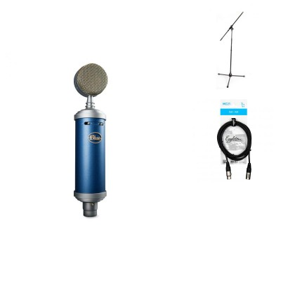 BLUE MICROPHONES BLUEBIRD SL + STAND + XLR CABLE