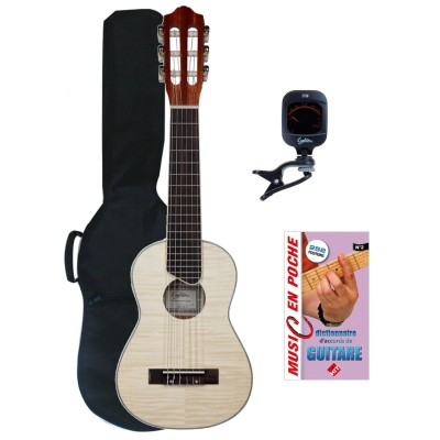 EAGLETONE GUITARRITA FLAMME MAPLE + ZUBEHOER