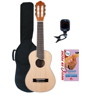 EAGLETONE GUITARRITA NATURAL + ACCESSORIES